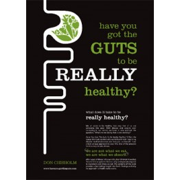 Book - Have you got the guts to be really healthy? - Don Chisholm