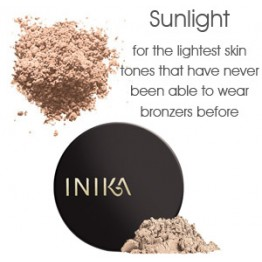 Inika Mineral Bronzer - Sunlight (fair/lightest skin tones)