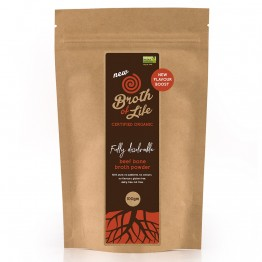 Broth of Life Flavour Boost Organic Bone Broth Powder - Beef 100g