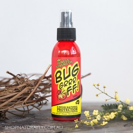 Bug-grrr Off Natural Insect Protection Spray - 6 hours Jungle Strength - 100ml