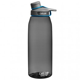 Camelbak Chute Water Bottle - BPA Free Tritan Plastic with screw lid - 1.5L Charcoal
