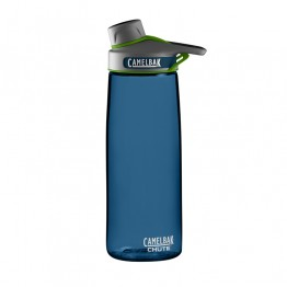 Camelbak Chute Water Bottle - BPA Free Tritan Plastic with screw lid - 750ml Bluegrass