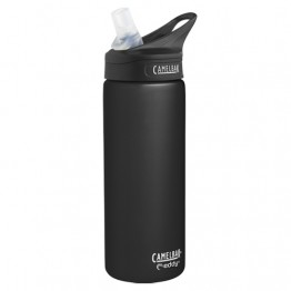 Camelbak Eddy Water Bottle - Stainless Steel Insulated - 600ml Raven