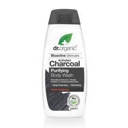Dr Organic Activated Charcoal Body Wash - 250ml