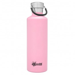 Cheeki Insulated Stainless Steel Water Bottle 600ml - Pink