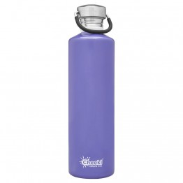 Cheeki Stainless Steel Water Bottle 1 litre - Lavender