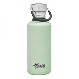 Cheeki Stainless Steel Water Bottle 500ml - Pistachio
