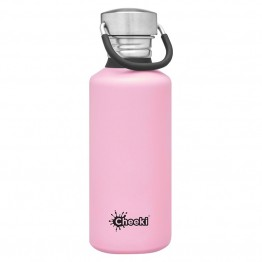 Cheeki Stainless Steel Water Bottle 500ml - Pink