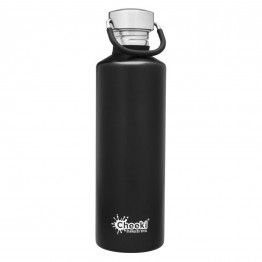 Cheeki Stainless Steel Water Bottle 750ml - Matte Black