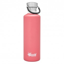 Cheeki Stainless Steel Water Bottle 750ml - Dusty Pink