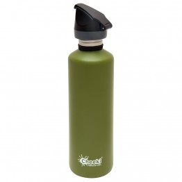 Cheeki Active Stainless Steel Water Bottle 750ml - Khaki