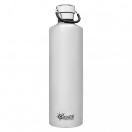 Cheeki Insulated Stainless Steel Water Bottle 1 litre - Silver