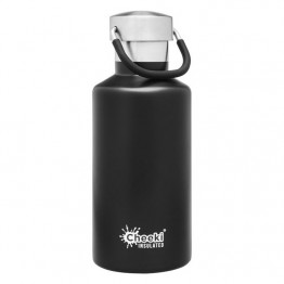 Cheeki Insulated Stainless Steel Water Bottle 400ml - Matte Black