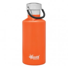 Cheeki Insulated Stainless Steel Water Bottle 400ml - Orange