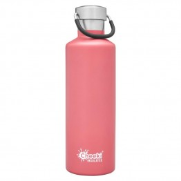 Cheeki Insulated Stainless Steel Water Bottle 600ml - Dusty Pink