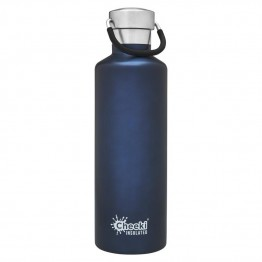 Cheeki Insulated Stainless Steel Water Bottle 600ml - Ocean Blue
