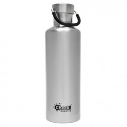 Cheeki Insulated Stainless Steel Water Bottle 600ml - Silver