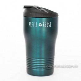 Cheeki Stainless Steel Insulated Spillproof Coffee Cup 310ml - Midnight