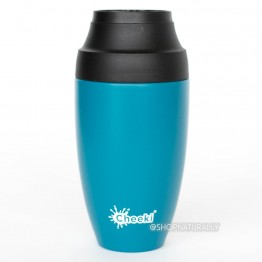 Cheeki Stainless Steel Insulated Leakproof Coffee Mug 350ml - Topaz
