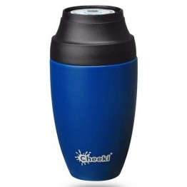 Cheeki Stainless Steel Insulated Leakproof Coffee Mug 350ml - Sapphire Blue