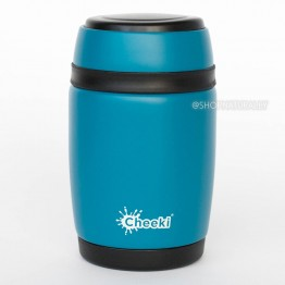 Cheeki Stainless Steel Insulated Food Jar 480ml Topaz
