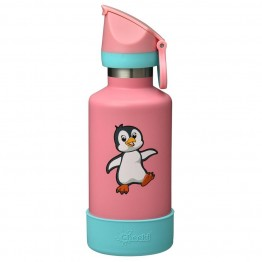 Cheeki Kids Insulated Stainless Steel Water Bottle 400ml - Pia The Penguin