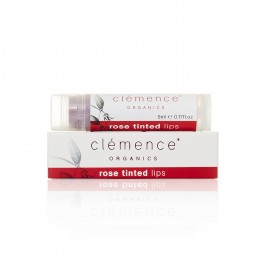 Clemence Organics Rose Tinted Lips 5ml