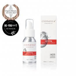Clemence Organics Calming Daily Face Lotion - 50ml