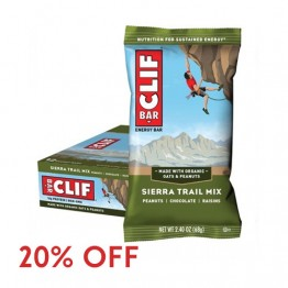 Clif Bar Energy Bar - Sierra Trail Mix 68g - Box of 12
