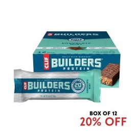 Clif Builders Bar Chocolate Mint 68g - Box of 12