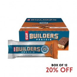 Clif Builders Bar Chocolate Peanut Butter 68g - Box of 12