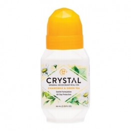 Crystal Body Deodorant Roll On Chamomile & Green Tea 66ml