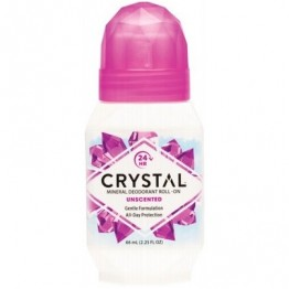 Crystal Body Deodorant Roll On Unscented 66ml