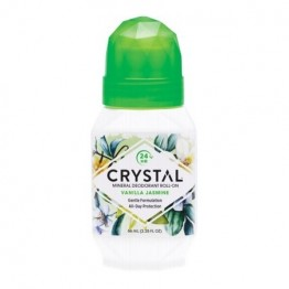 Crystal Body Deodorant Roll On Vanilla Jasmine 66ml