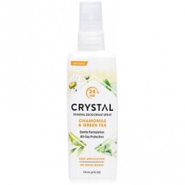 Crystal Body Deodorant Spray Chamomile & Green Tea 118ml