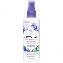 Crystal Body Deodorant Spray Lavender & White Tea 118ml