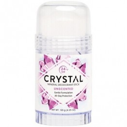 Crystal Body Deodorant Stick Unscented 120g