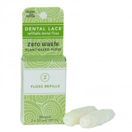 Dental Lace Plant Based Compostable Vegan Floss Refill Pack - 60m
