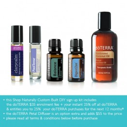 doTERRA Custom DIY Settle Me Kit (wholesale access + 25% off future doTERRA orders)