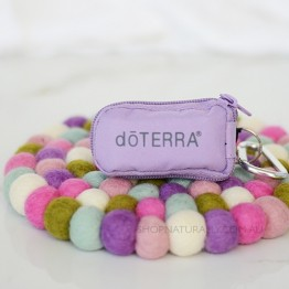 doTERRA 8-Vial Key Chain - Purple