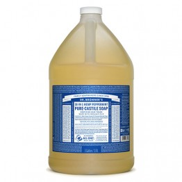 Dr Bronner's 18-in-1 Hemp Pure Castile Soap - 3.8 litres Peppermint
