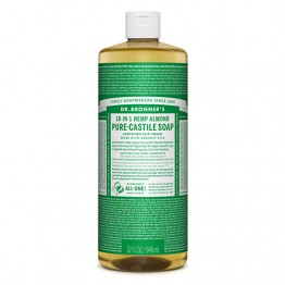 Dr Bronner's 18-in-1 Hemp Pure Castile Soap - 946ml Almond