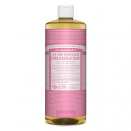Dr Bronner's 18-in-1 Hemp Pure Castile Soap - 946ml Cherry Blossom