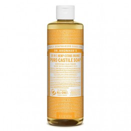 Dr Bronner's 18-in-1 Hemp Pure Castile Soap - 473ml Citrus