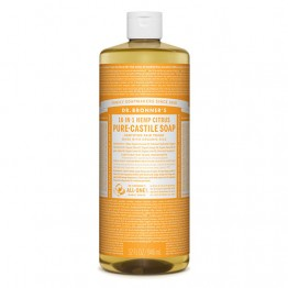 Dr Bronner's 18-in-1 Hemp Pure Castile Soap - 946ml Citrus