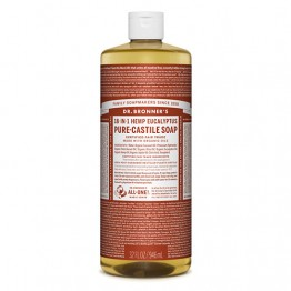 Dr Bronner's 18-in-1 Hemp Pure Castile Soap - 946ml Eucalyptus