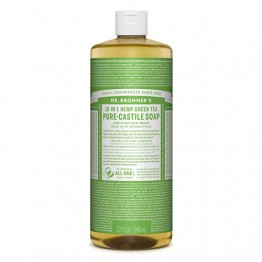 Dr Bronner's 18-in-1 Hemp Pure Castile Soap - 946ml Green Tea