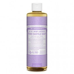 Dr Bronner's 18-in-1 Hemp Pure Castile Soap - 473ml Lavender
