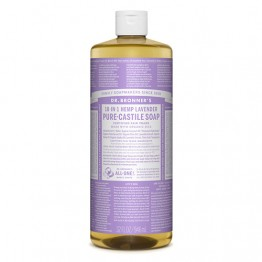 Dr Bronner's 18-in-1 Hemp Pure Castile Soap - 946ml Lavender
