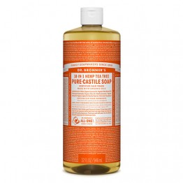 Dr Bronner's 18-in-1 Hemp Pure Castile Soap - 946ml Tea Tree